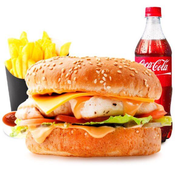 Combo-menu Чизбургер с курицей