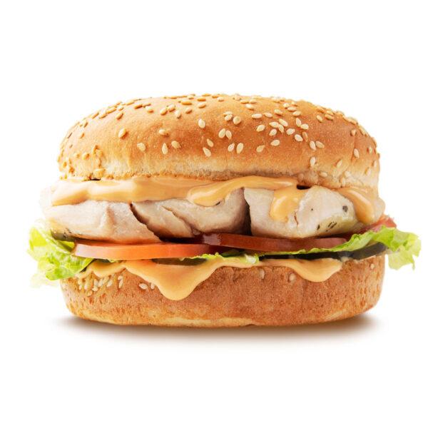 Гамбургер с курицей гриль