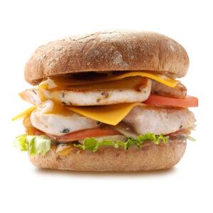 Дабл Чизбургер с индейкой гриль