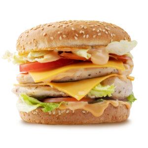 Дабл Чизбургер с курицей гриль