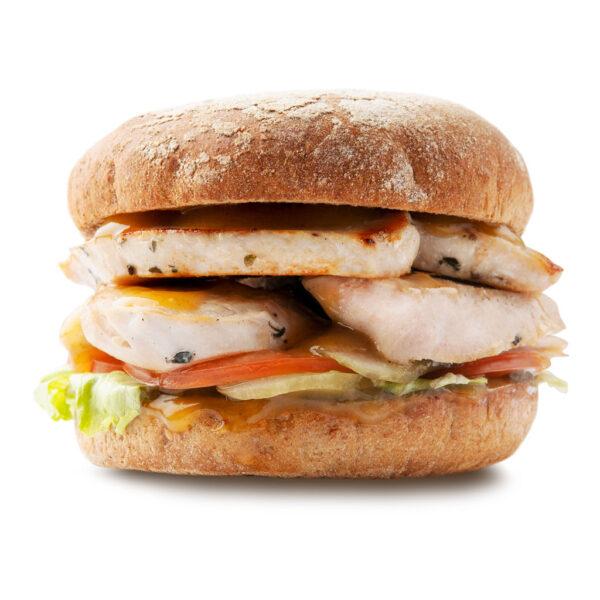 Дабл Гамбургер с индейкой гриль