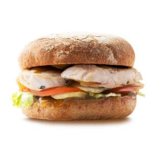 Гамбургер с индейкой гриль