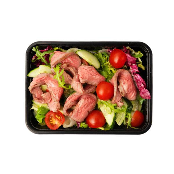 Мясной с ростбифом салат