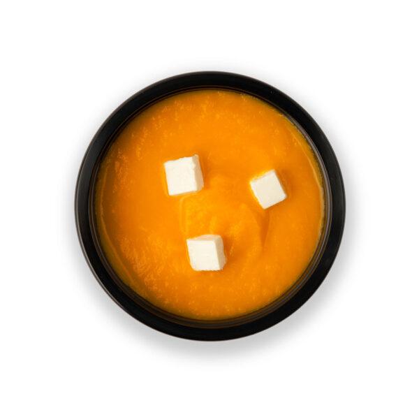 Суп тыквенный с фетой