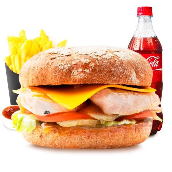 Combo-menu Чизбургер с индейкой
