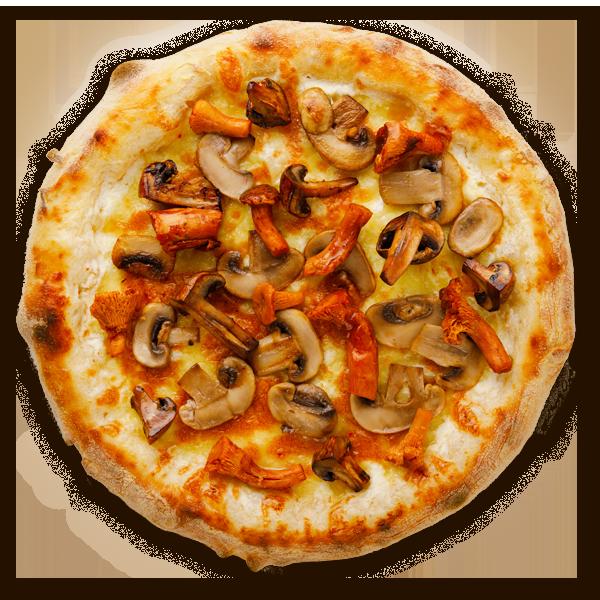 Пицца грибная с трюфелем