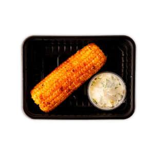 Кукуруза на гриле со сливочным маслом